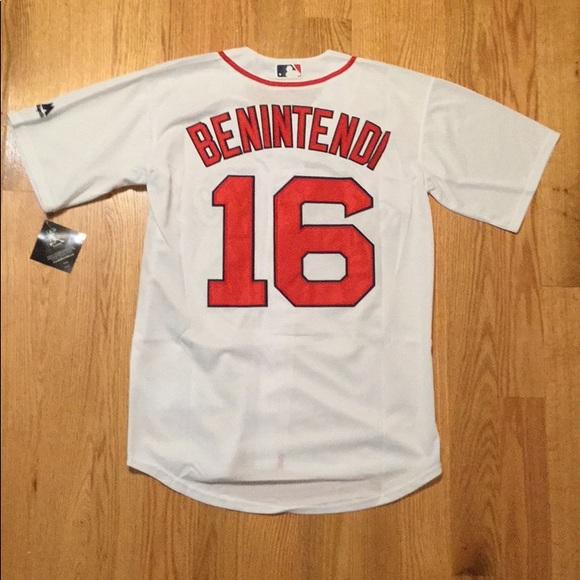the best attitude 96b1c ec5ed Boston Red Sox #16 Benintendi Jersey NWT